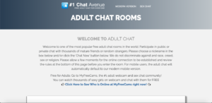 chat avenue adult chat
